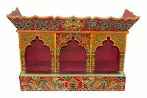 Tempio-Altare-Tibetano-bouddhiste-3-Incavi-Statue-Bodhisattva-81x57cm-25980-HG17