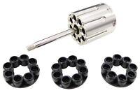 Wg 8 Round Co2 Airsoft Revolver Cylinder Set
