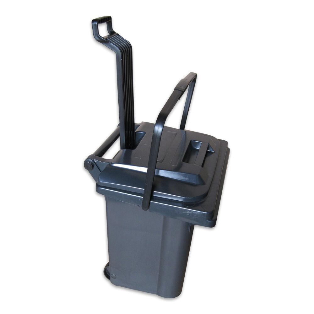45 Liter Rollbox Futtertonne Tierfutterbox mit Griff und Rollen Sulo Abfalltonne