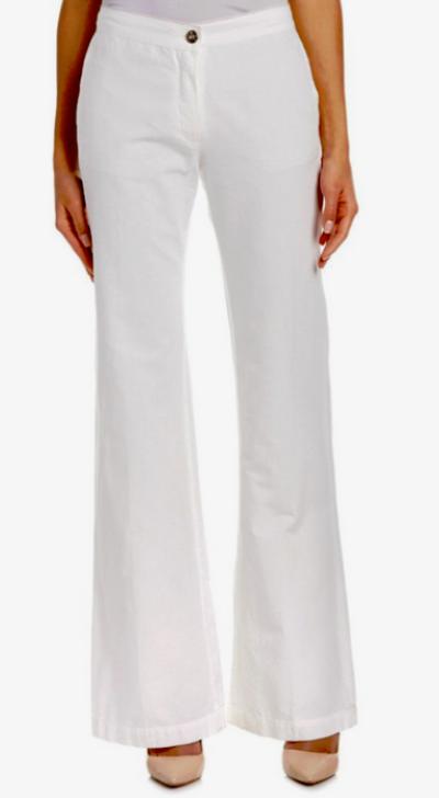 3x1 Wide Leg Flare Jeans Pearl Weiß NWT  294