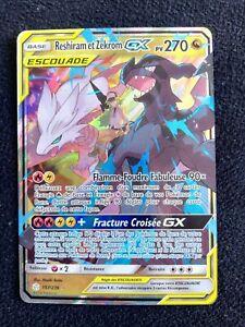 Reshiram-Et-Zekrom-GX-Escouade-157-236-Pokemon-Eclipse-SL12-FR-Francais