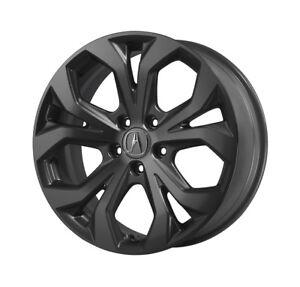 Acura RDX Berlina Spoke Black Wheels Set Of H EBay - Acura rdx wheels