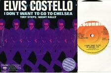 ELVIS COSTELLO i don't want to go to chelsea 3 song EP CDN PS POWER POP oop L@@K