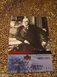 William-McKinley-USA-History-American-US-United-states-President-Card