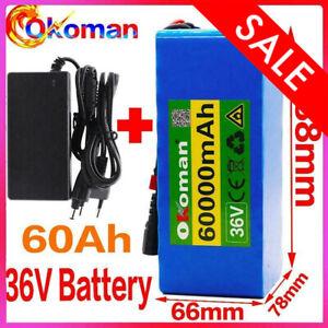 Li-ion Battery 36V 14AH Volt Rechargeable Bicycle 500W E Bike Electric Li-ion