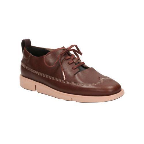 Nuevos Zapatos Clarks Clarks Clarks Tri Nia Cuero Tostado-UK Talla 4.5D  precios ultra bajos