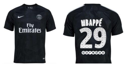 128-xxl MAGLIA Paris Saint-Germain 2017-2018 Third-mbappé 29 3rd PSG mbappe