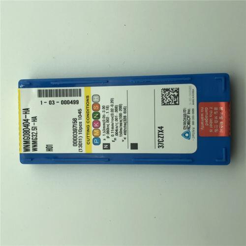 for Aluminum WNMG080404-HA H01 WNMG431 Carbide inserts Cutter blade turning tool