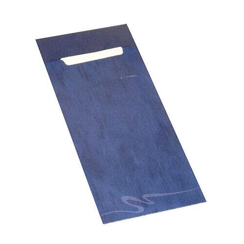 520 Bestecktaschen Serviettentaschen 20x8,5cm weiße Serviette 33x33cm 2-lag.