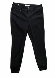 Torrid Women Jeans, Stretch Black Denim Skinny Jegging, Plus Size 18 Regular