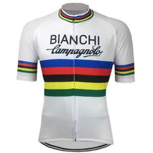 Retro-Team-Bianchi-Campagnolo-Weltmeister-Radsport-Trikot