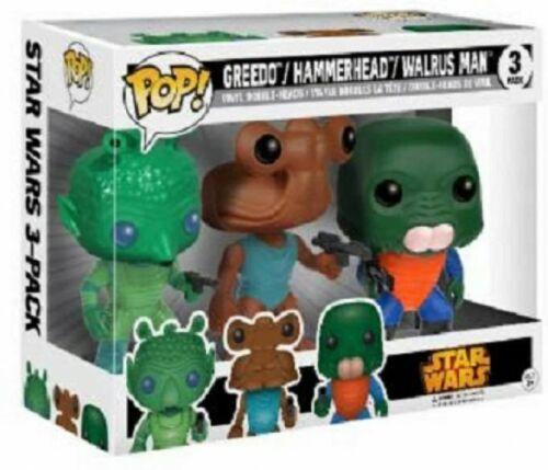 "Funko Star Wars Greedo Hammerhead Walrus Man Exclusive 3.75/"" Action Figure"