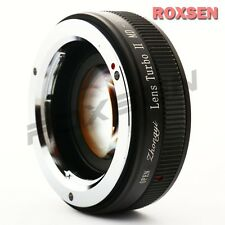 Zhongyi Lens Turbo II Focal Reducer Booster Adapter Minolta MD to Sony E NEX 5T
