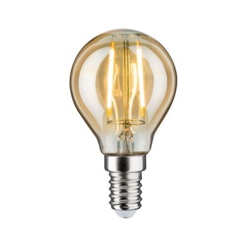 Paulmann 28525 LED Vintage Tropfen 2W E14 230V Gold 1700K