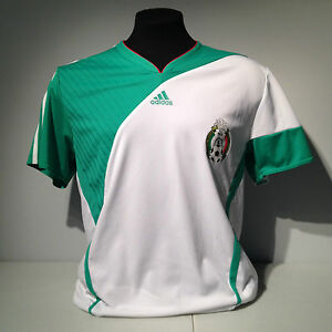 Image is loading Mexico-Football-Federation-Adidas-Soccer-Jersey-National- Team- 60f16202d