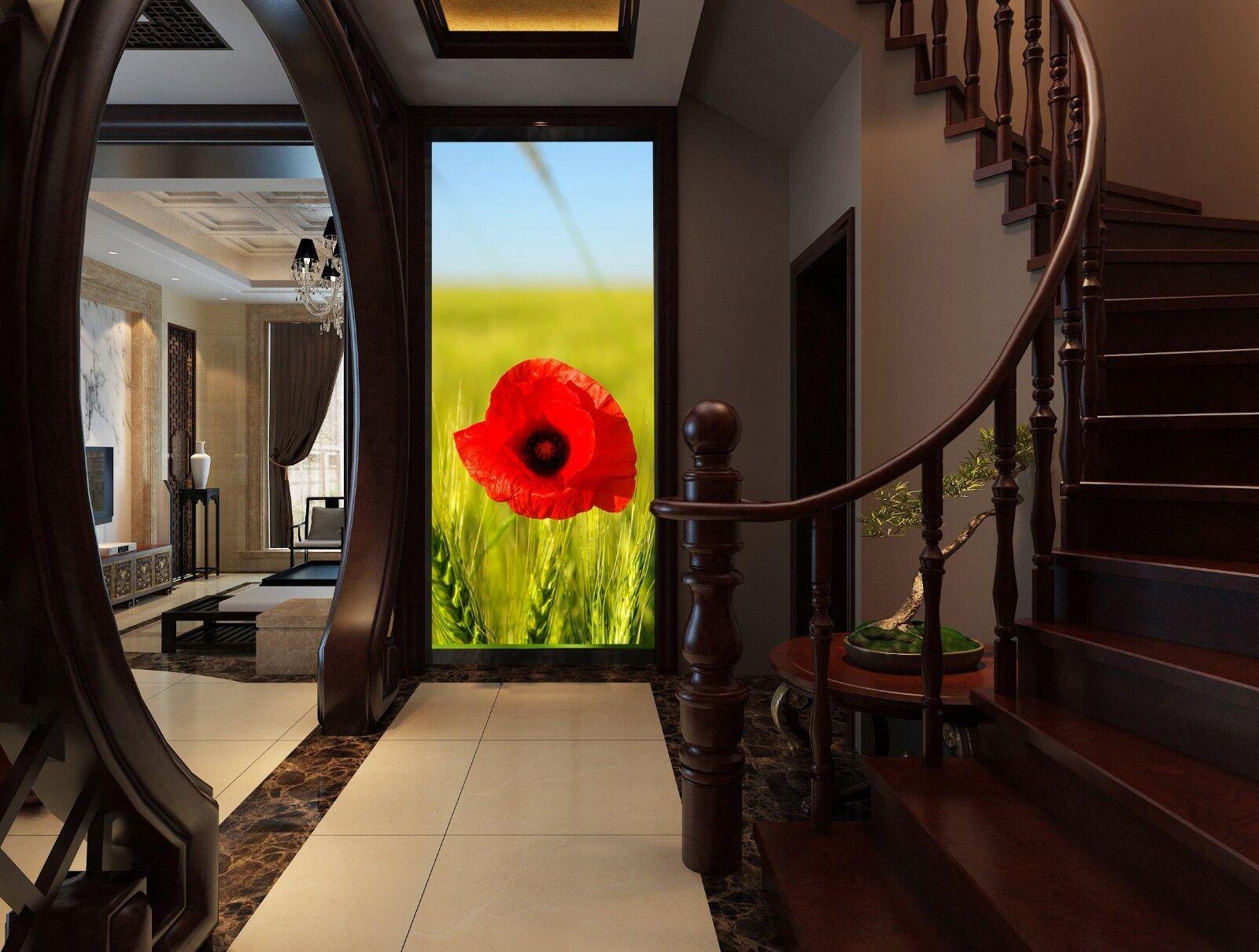 3D Grasblumen 577 Tapete Tapeten Mauer Foto Familie Tapete Wandgemälde DE Summer