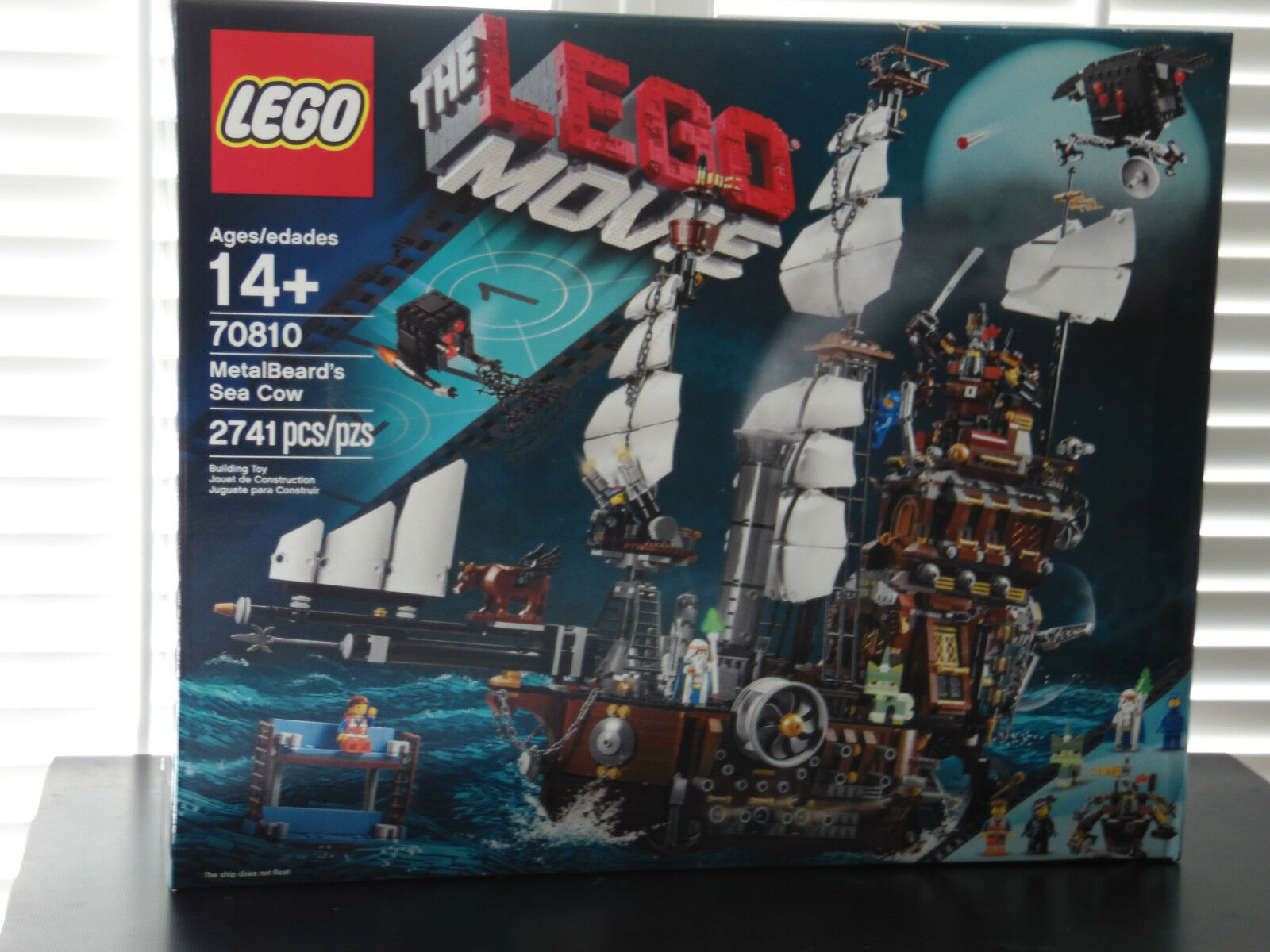 NEW Lego Movie  70810 MetalBeard's Sea Cow Sealed