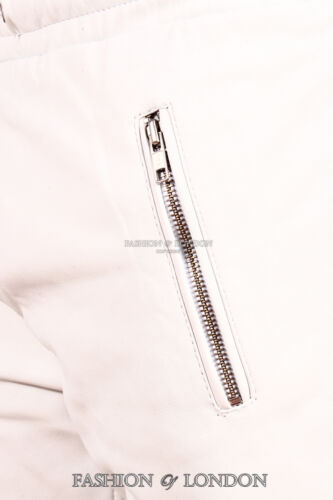 Lambskin Leather Suit Jogging Men's Premium Jogger Track White Draw Pant Trouser axqFgE