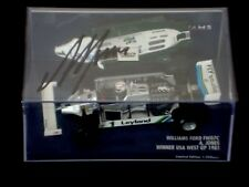 "1/43rd Minichamps SIGNED Alan Jones Williams FW07C  USA West GP 1981  "" Winner """