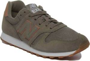 Details about New Balance Modern Classic 373 Men Suede Lace Up Trainer In Khaki Size UK 6 12