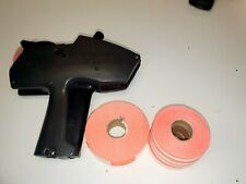 Monarch 1115 Line Price Tag Gun Label Avery Dennison Used Comes With Labels