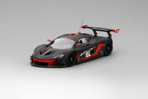 McLaren P1 GTR  in Grey//Red Model Car in 1:43 Scale by Truescale Miniatures