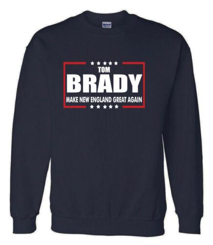 "Tom Brady New England Patriots /""Make New England Great Again/""  HOODED SWEATSHIRT"