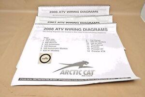 06-08 Arctic Cat ATV DVX Thundercat Prowler Large Wall ...