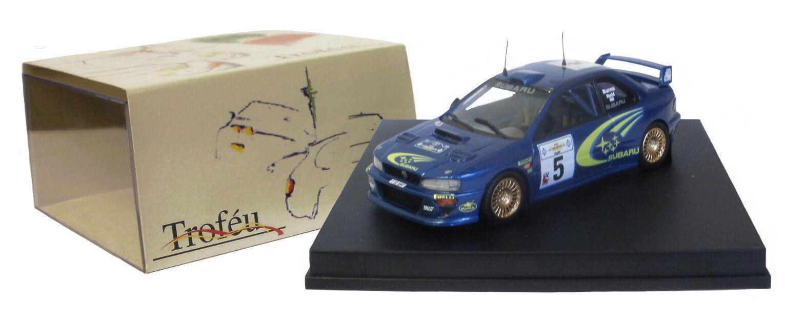Trofeu 1112 Subaru Impreza WRC 99 gagnant Rallye de l'Acropole 1999-R Burns 1   43