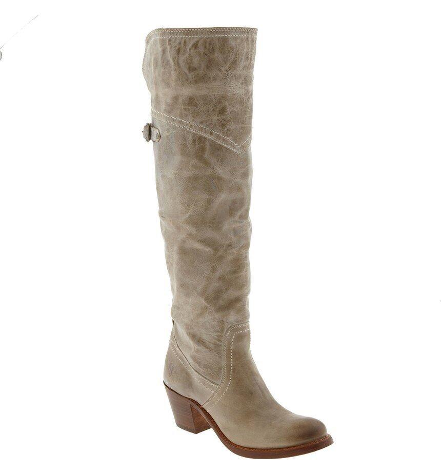 autentico NEW  468+ Frye JANE Tall Tall Tall Cuff Knee High Tall avvio Beige   Khaki Donna  Sz 6.5 M  vendita outlet online