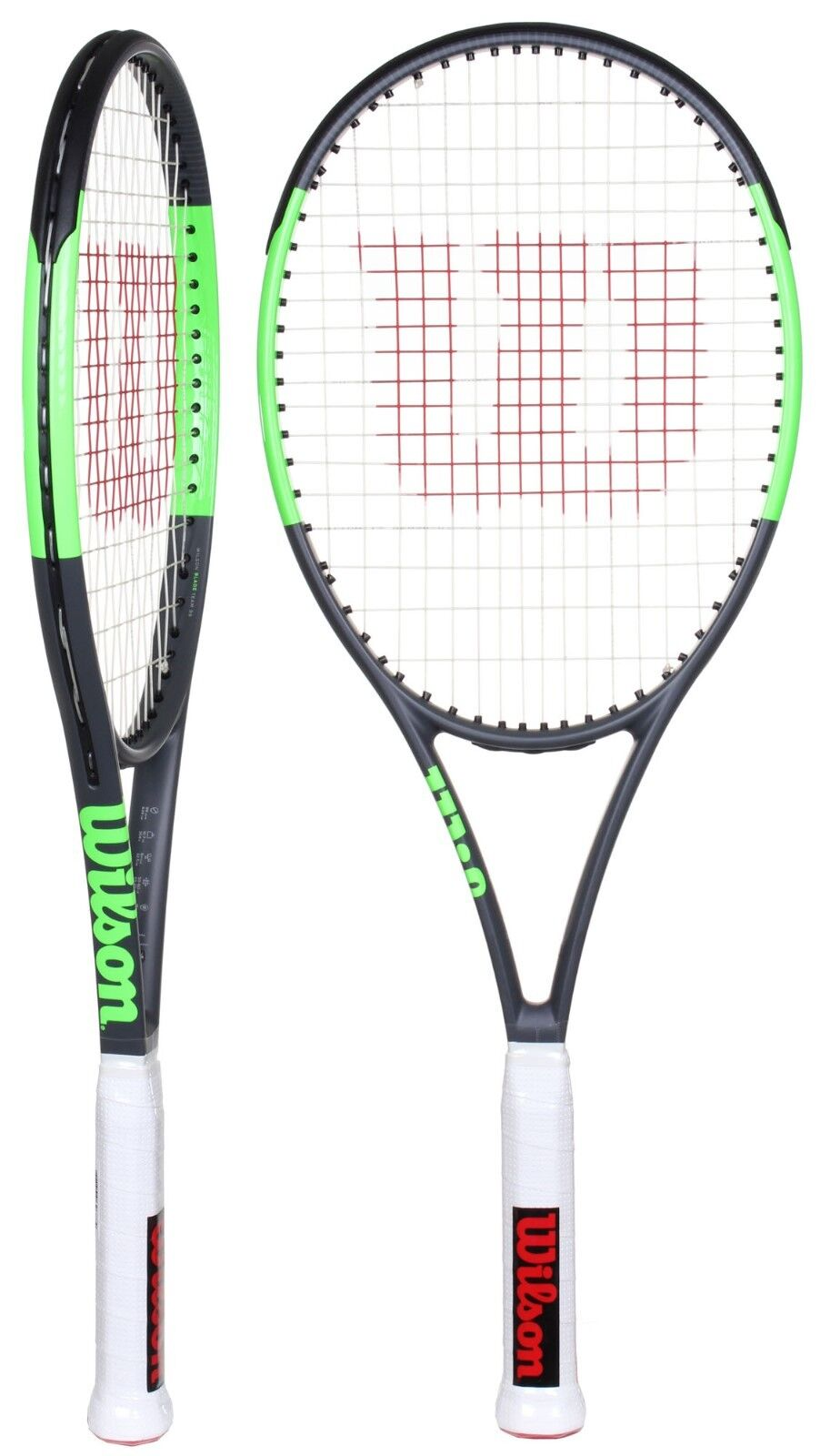 Wilson Hoja Equipo 99 Lite Tenis Raqueta - 4 1 4 - libre encadena Y Grip