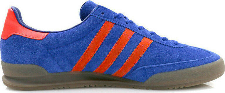 ADIDAS ORIGINALS JEANS blueE RED TRAINERS UK 5 BRAND NEW