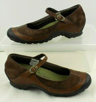 Merrell Plaza Mary Jane Saddle Shoes