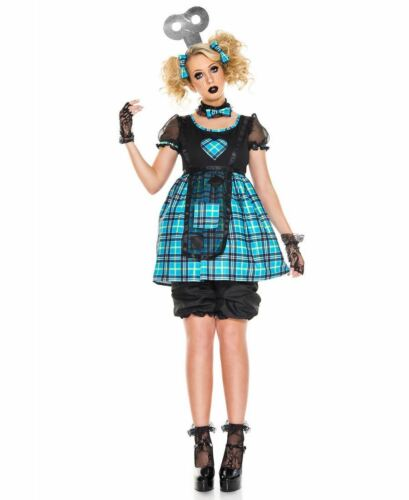 New Music Legs 70830 Wind-Up Doll Costume
