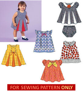 ca79eff3bcc Image is loading SEWING-PATTERN-MAKE-BABY-GIRL-SUMMER-DRESS-SUNDRESS-