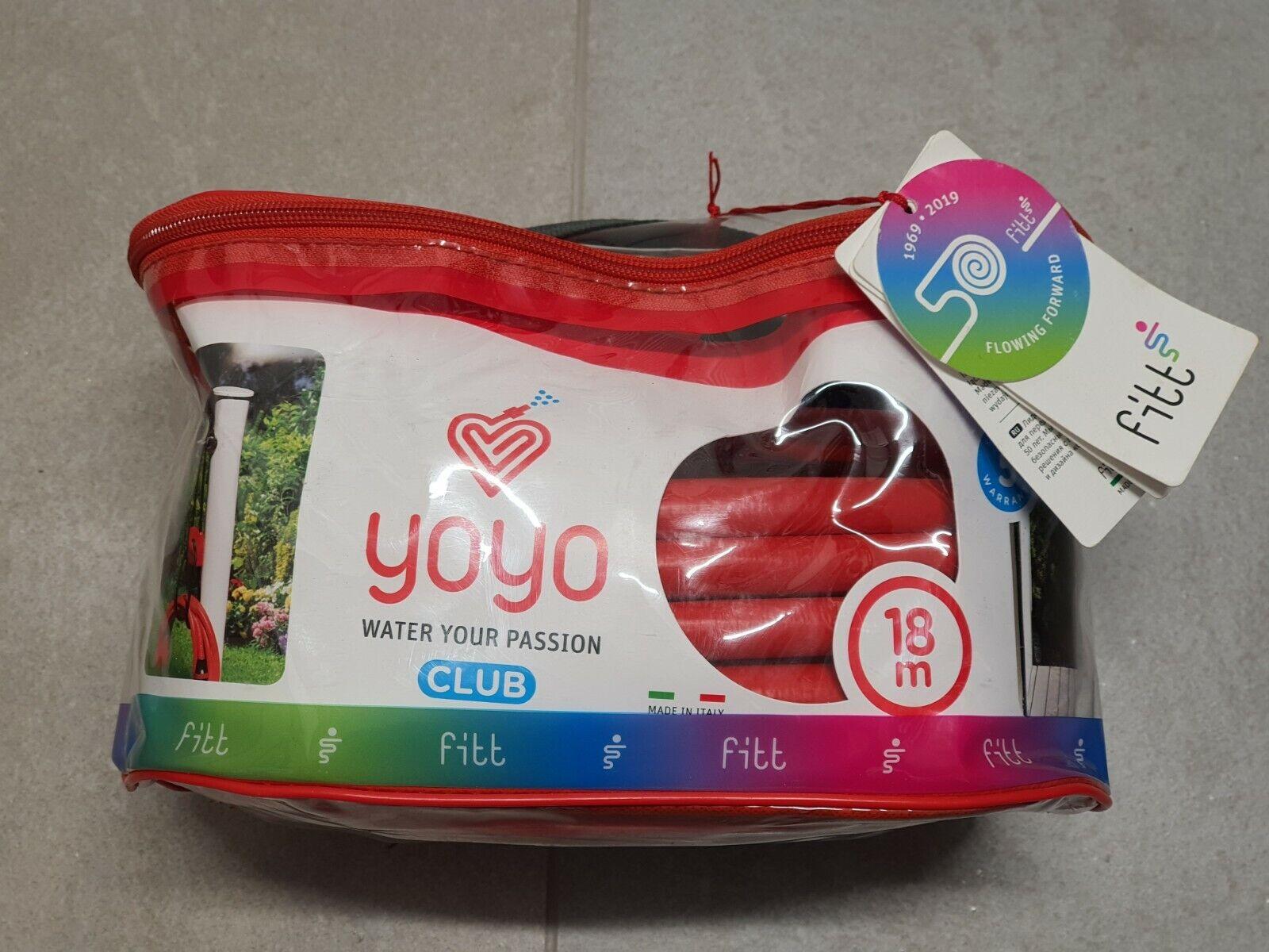 YOYO Expanding Lightweight Garden Watering Soft Hose with Spray Gun 18m - New