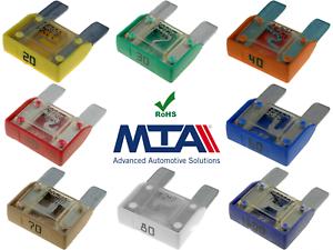 10 Stück Set MAXI Sicherung Stecksicherung Maxisicherung 70A 70 Ampere A