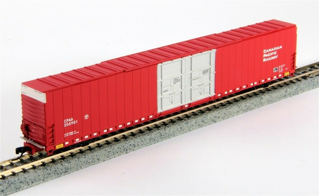 Scala N - Bluford Boxcar Us Auto Parti Car CP Rail - 86462 Neu