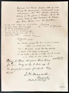 1926-Litografia-Condado-de-Cavan-Sir-Walter-Congreve-Senor-Gough-Maxwell