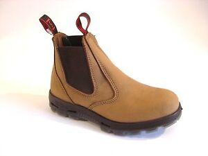 Australien Travail Marron Bottes Boots Redback Ubch De wFwHPZxq