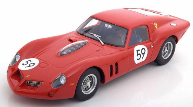 Ferrari 250 GT Drogo #59 5th 1000km nurburgring 1963 Langlois Van Ophem elde 1