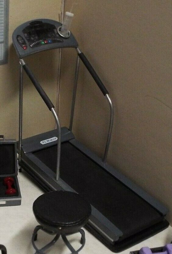 Dollhaus miniature handcrafted Medical Exercise Treadmill 1 12th scale