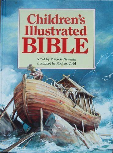 1 of 1 - Children's Illustrated Bible by Newman, Marjorie 1850384541 The Cheap Fast Free