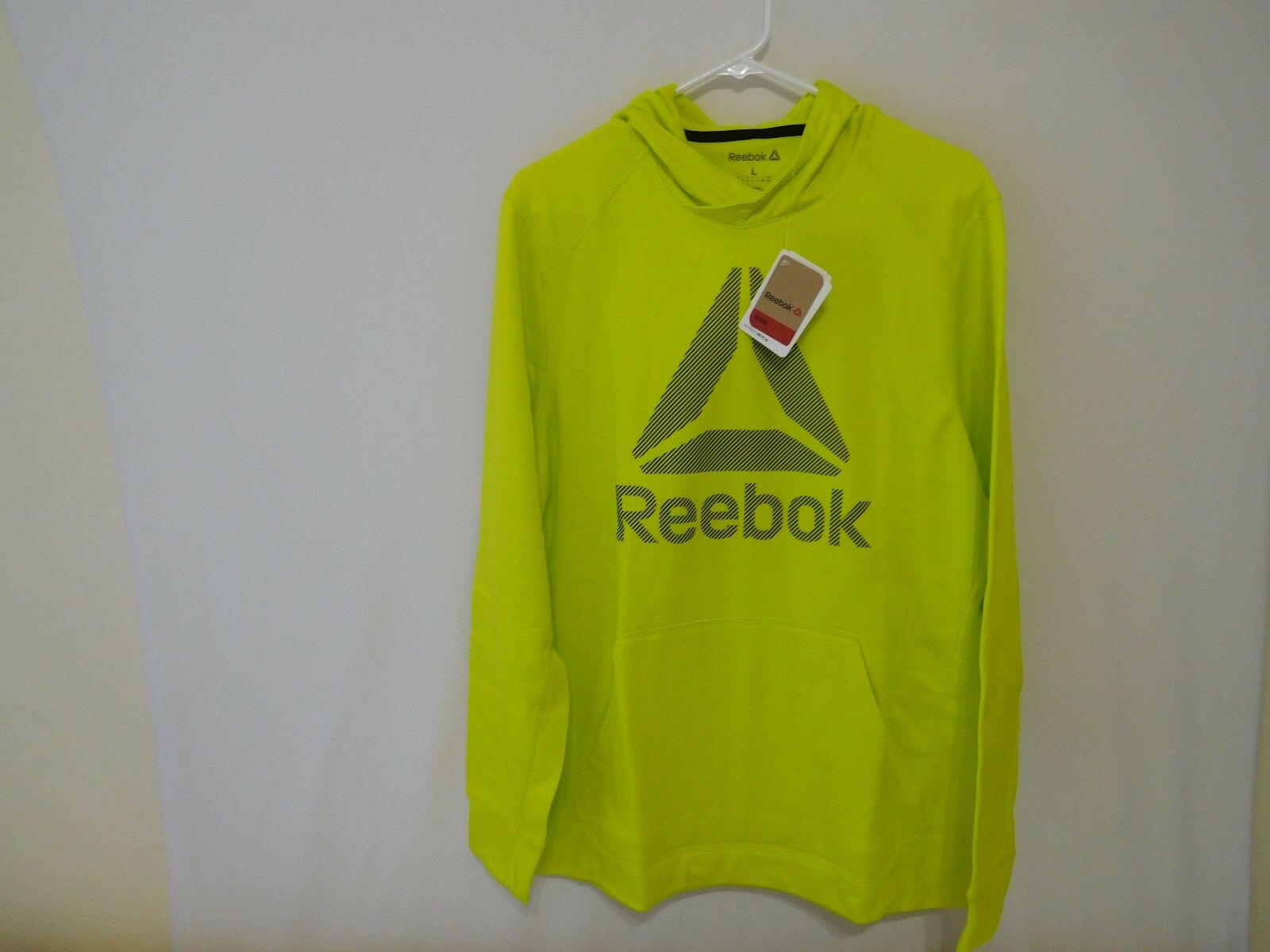 Reebok Top Warm Poly Fleece Bright Yellow -  Large L