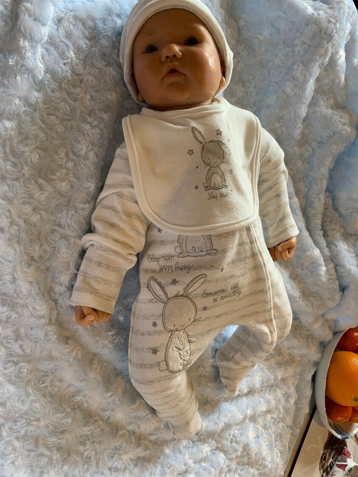Artist Doll By Didy Jacobson Ooak Clay Baby