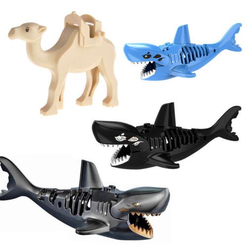 DIY Mini Building Block Animal Camel Shark Model Children Educational Gifts Toy