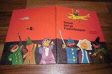 Christel Süßmann+Herbert Lentz -- SIEBEN LUST`GE KASPERLPUPPEN / 1. Auflage 1963