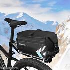 ROSWHEEL 6L Water-resistant Bicycle Rear Rack Trunk Bag Cycling Pannier Handbag