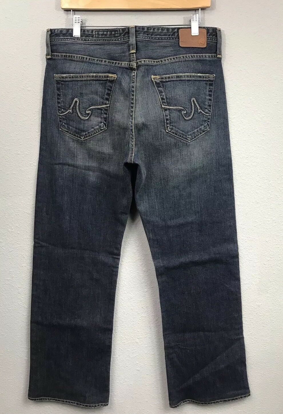 RARE Adriano goldschmied AG The Hero Relaxed Straight Jeans 32x31