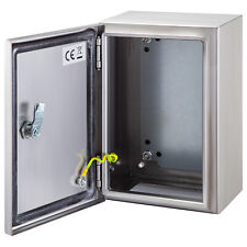 Vevor 16x12x8 Stainless Steel Electrical Box Nema 4x Ip65 Electrical Enclosure